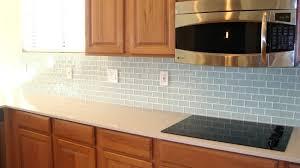 tiles glass subway tile backsplash no grout glass tile