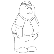 Family Guy Coloring Pages 3