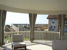 Sunbrella Curtains With Grommets by Deck Patio And Porch Enclosures