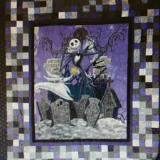 Nightmare Before Christmas Halloween Decorations by Tim Burton U0027s The Nightmare Before Christmas By Sewwhatquiltshop