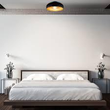 b k licht deckenleuchte e27 warmweiß led deckenle retro schwarz gold wohnzimmer flur schlafzimmer e27