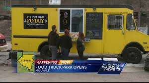 The First Pittsburgh Food Truck Park Is Now Open In Millvale - YouTube