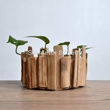 pot bonsai grande taille grande taille planteur bois faits à la décoration de la