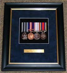 Full Sized Medals Swung Mounted And Framed For Display A Frame Of This Type Is Around 150
