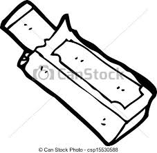 Chewing Gum Packet Cartoon Vector