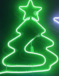 Rope Light Christmas Tree Green Led Neon Flex Nz