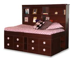 Captain Bed Twin with Drawers — Modern Storage Twin Bed Design
