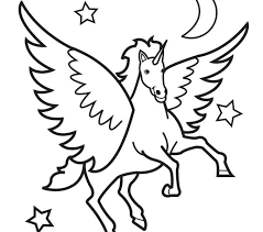 Unicorns Coloring Pages Pictures Of To Colour In Unicorn Page Image Images Art Color