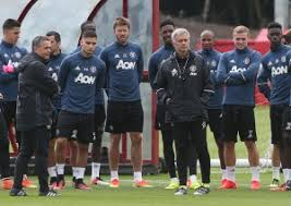 PICTURES Mourinhos First Training Session As United Boss