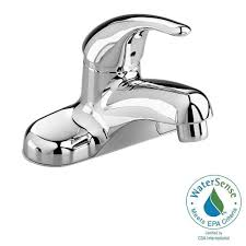 American Standard Faucets Bathroom by American Standard Colony Soft 4 In Centerset Single Handle Low