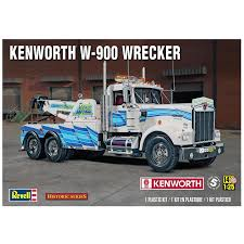 Revell Monogram – 1/25 Scale Kenworth W-900 Wrecker Plastic Model ... Gmc The Crittden Automotive Library 69 Ford F100 Shop Truck Scaledworld Amazoncom Revell 57 Gasser 2in1 Plastic Model Kit Toys Model Jet Semi Custom With Bonus Build Youtube Kenworth Heavy Hauler Stop Cars 125 Revell Kevin Vandams Team Profish Silverado Truck Amigo Pack W900 Wrecker 852510 New Aeromax 120 Kits Hobbydb K100 An Amt Box 125th Finescale Modeler Pin By Roman On Italerirevellamt Trucks 124 Pinterest Modelling News Italeris Catalogue New Items Of 62017 1 25 Scale Peterbilt 359 Cventional Tractor Ebay