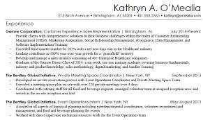 Kathryn Resume Sample 1