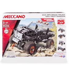 Meccano-Erector - 4x4 Off-Road Truck 25 Model Building Kit ... Fire Truck Games For Kids Android Apps On Google Play Sago Mini Trucks Diggers Fun Build Sweet A Duck Moose Builder Simulator Car Driving Driver Custom Cars Lego Technic 8258 Mit Porschwenkkran See More At Crossout Building Mad Max Truck Youtube Track Hot Wheels Farming 17 Trailer Shed Paving Lawn Care Intertional Dump