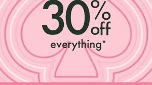 Kate Spade Friends & Family Coupon Code: 30% Off Everything