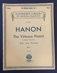 Image Is Loading HANON THE VIRTUOSO PIANIST SCHIRMER 039 S LIBRARY