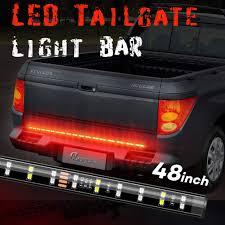 100 Truck Tailgate Light Bar Amazoncom Megulla DoubleRow LED Strip