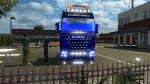 100 Megastore Truck Scania 124 GamesModsnet FS19 FS17 ETS 2 Mods