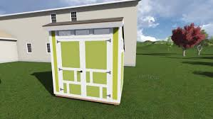 6x8 saltbox shed plan