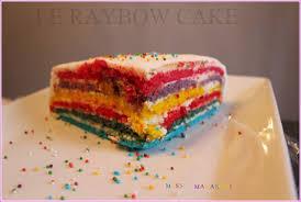 le raybow cake le gâteau arc en ciel avec pâte a sucre gâteau d