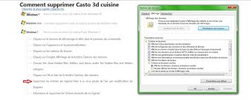castorama 3d cuisine problème pour désinstaller casto 3d cuisine