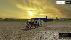 100 Gta Iv Fire Truck Mods AMERICAN FIRE TRUCK WITH WORKING HOSE V10 Gamesnet FS19