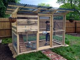 Pallet Wood Chicken Coop Building Plans For Dog Kennels