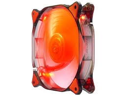 COUGAR 12CM CFD Red LED Hydraulic Liquid Bearing Ultra Silent