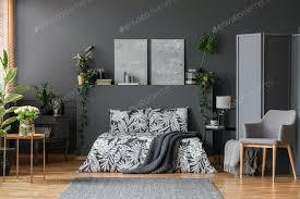 moderner sessel im eleganten schlafzimmer foto bialasiewicz auf envato elements
