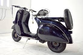 Vespa Navy Blue Gasoline