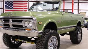 1972 GMC Jimmy Green2 - YouTube 67 72 Gmc Jimmy 4wd Nostalgic Commercial Ads Pinterest Gm 1976 High Sierra Live Learn Laugh At Yourself Gmc Truck 1995 Favorite Image 5 Autostrach 1985 Transmission Swap Bm 700r4 Truckin 1955 100 The Rat Hot Rod Network Car Brochures 1983 Chevrolet And 1999 Lifted 4x4 Solid Axle Offroad Crawler Trail Mud 1991 Sle Id 12877 Jimmy Bos0007a Aa Cater 1969 K5 Blazer Jacked Up Youtube 1987 Overview Cargurus
