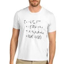 men u0027s standard model math equation funny t shirt ebay