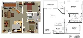 Modern Ideas 1 Bedroom Bath Apartments 2 Bedroom Bath Apartments