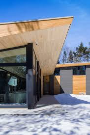 100 Architects Wings Called The Wooden Wing The House Is Located Beside Lac