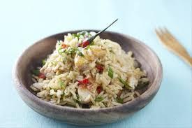 cuisine thailandaise recettes recette de khao riz sauté à la thaïlandaise facile et rapide
