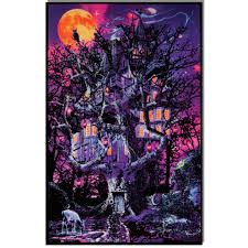 23x35 OpticzTM Treehouse Blacklight Poster