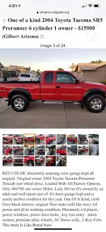 100 Craigslist Phoenix Cars And Trucks For Sale By Owner Should I Snag It ToyotaTacoma