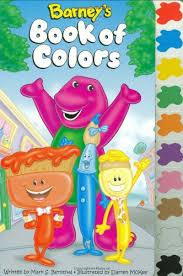 Barneys Book Of Color Tab Scholastic Inc 0038332153958 Amazon Books