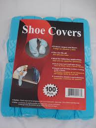 Outside Faucet Cover Menards by Disposable Polypropylene Shoe Covers L 100 Pack Dsc100 Blue
