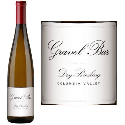 Gravel Bar Columbia Valley Dry Riesling 750ml