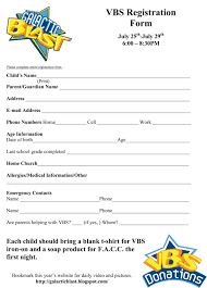 Free VBS Registration Form Template   VBS   Pinterest ... 25 Unique Vacation Bible School Ideas On Pinterest Cave 133 Best Lessons Images Bible Sunday Kids Urch Games Church 477 Best Of Adventure Homeschool Preschool Acvities Fall Attendance Chart Bil Disciplrcom Https The Pledge To The Christian Flag And Backyard Club Ideas Fence Free Psalm 33 Lesson Activity Printables Curriculum Vrugginks In Asia