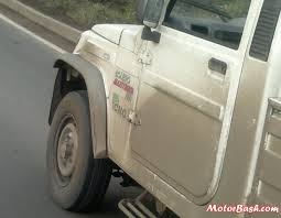 100 Cng Pickup Trucks SPIED Mahindra Bolero Maxitruck Plus CNG Snapped In Pune