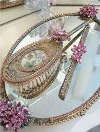 Vanity Mirror Dresser Set by Vintage Dresser Set A Vintage Life Pinterest Dresser