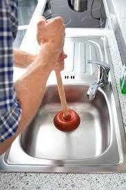 kitchen sink drain cleaner clogged kitchen sink drain cleaning