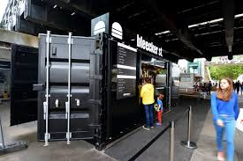 100 Shipping Containers Converted Container Burger Bar Food Truck In 2019 Container Bar