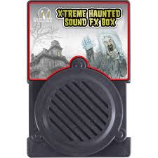 Motion Activated Halloween Decorations by Extreme Haunted Sound Box Halloween Decoration Walmart Com