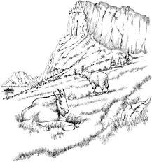 Adult Landscape Coloring Pages Printable Free