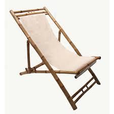 transat en bambou chaise jardin repliable achat vente chaise