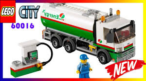 100 Lego City Tanker Truck 60016 Speed Build How To Play