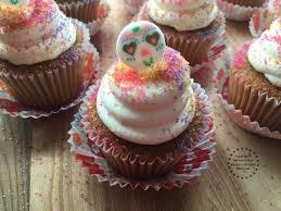 Easy Sugar Skull Day Of by Sugar Skull Pumpkin Cupcakes