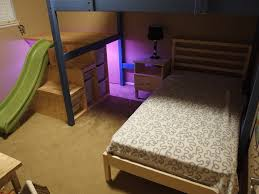 Loft Bed With Slide Ikea by Ikea Loft Bed With Slide Bunk Beds With Slide Ikea Princess Bunk